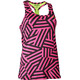 Salming T-Back Tanktop Women Pink/Yellow